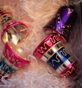 елочные игрушки колокольчики ссср