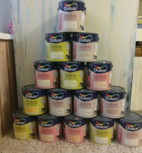 Краска Dulux для стен и потолков
