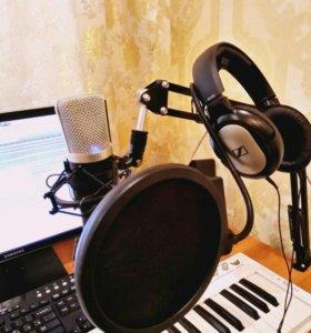 Студийный конденсаторный микрофон