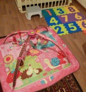 Tiny love музыкальный развивающий коврик