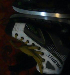 Конки хокейные не наточеные