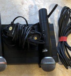 Радио микрофоны полупрофи