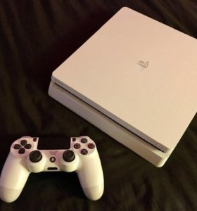 PS4 slim 500g 8 игр