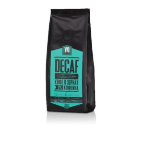 Натуральный кофе в зёрнах без кофеина