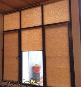 Кассетные шторы модель Комфорт