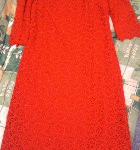 Шикарное новое платье р-р 50
