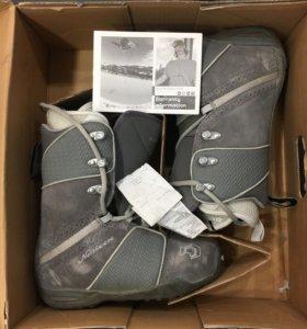 ботинки для сноуборда, сноуборлические.