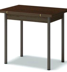 Стол обеденный раскладной ноги металл