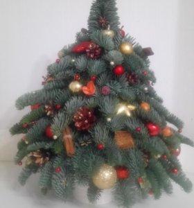 Новогодняя натуральная елка