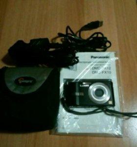 Фотоаппарат Panasonic DMC-FX10 lumix