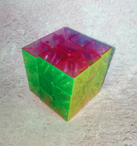 Кубик прозрачный