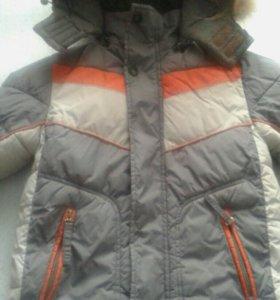 Зимняя куртка на мальчика 6-7 лет