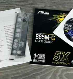 Мат плата Asus новая + процессор