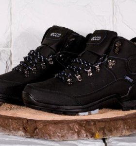 Ботинки Ecco Biom Yak black артикул 702001
