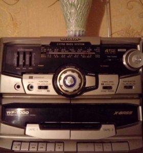 "Магнитофон 2хкассетный ""Sharp"""