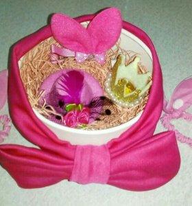 Розовый наборчик для девочки