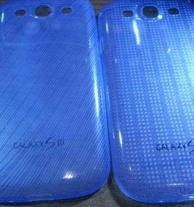 2 чехла для Samsung galaxy 3