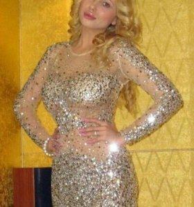 Шикарное платье Jovani 42-44р.