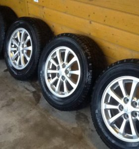 Комплект летних колёс Michelin 215/65-16