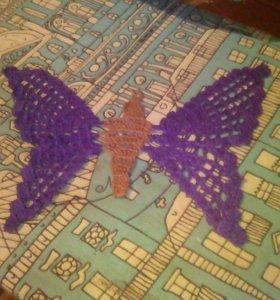 Вязаные бабочки!