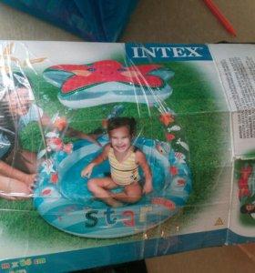 Маленький бассейн для малышей