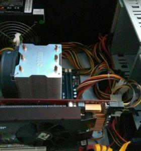 Игровой сист. блок Intel i7/4Gb/500Gb/HD 4890 1Gb