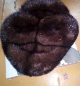 Срочно норковая шапка