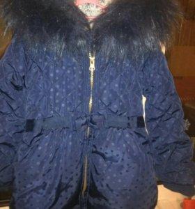 Куртка для девочки 1,5 -3 года