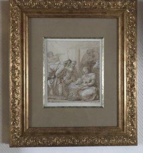 Картины старинная библейская сцена