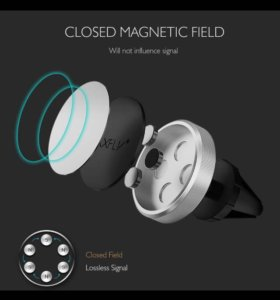 Магнитный держатель для телефона новый