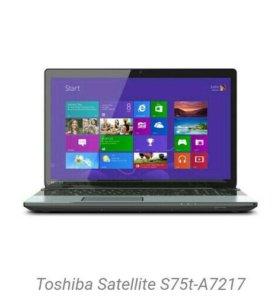🌟Ноутбук Toshiba Satellite S75A- A7217
