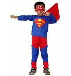Костюм новогодний детский Супергерой новый