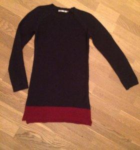 Платье туника вязаное новое C.F.K. на 12 лет