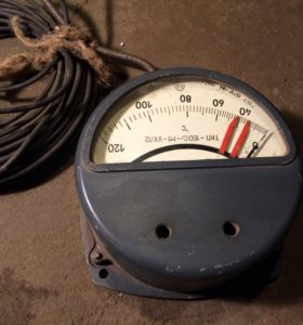 Термометр манометрический дистанционный