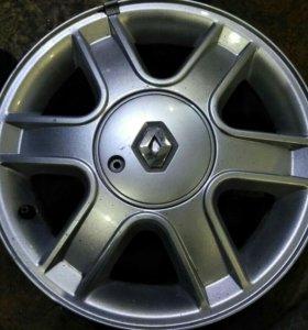 Диск литой оригинальный Renault R15