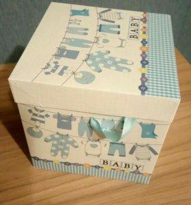 Детская подарочная коробка