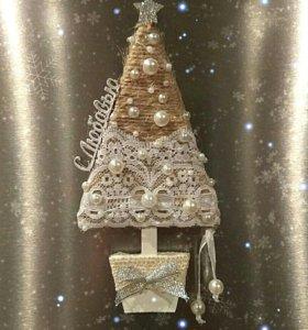 Магнит новогодний подарок