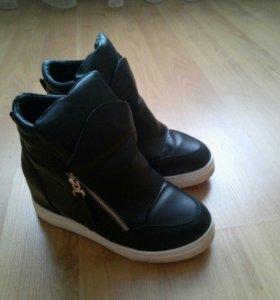 Обувь зимняя,б/у