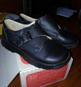Новые ботинки(кожа)