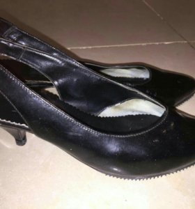 Туфли натур. кожа-лак