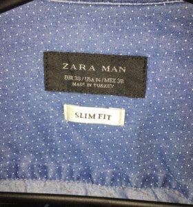 Джинсовая Рубашка Zara, мужская