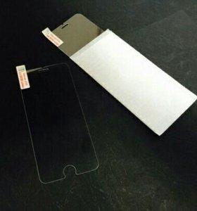 Защитное стекло, чехлы iphone 5,6,7