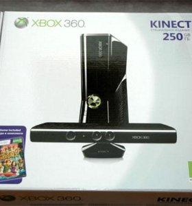 Microsoft Xbox 360 Slim 250 ГБ + Kinect