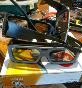 3d очки пасивные