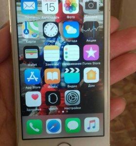 iPhone 5s 16гб голд