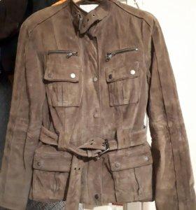 Замшевая куртка ZARA размер
