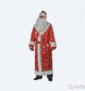 Костюмы Деда -Мороза. Яркие. Красивые.