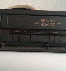 касетный видео проигриватель