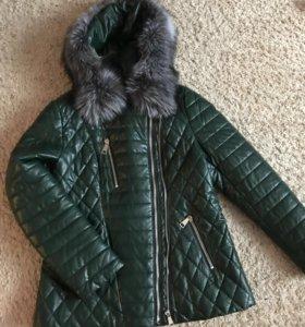Куртка ЭКО-Кожа, зима