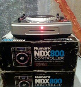 Профессиональные проигрыватели Numark NDX 800